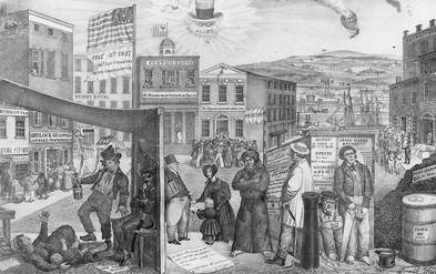 the issues of the industrial period within democracy Jacksonian democracy and modern america thus, the whig-democrat political contest was in large part a disagreement about the early industrial revolution.